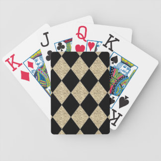 Harlequin--Gift's_Champagne -Black Bicycle Playing Cards