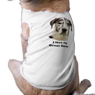 Harlequin Great Dane photo Dog Clothing