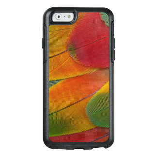 Harlequin Macaw parrot feathers OtterBox iPhone 6/6s Case