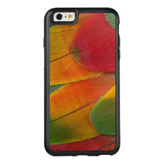 Harlequin Macaw parrot feathers OtterBox iPhone 6/6s Plus Case