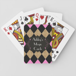 Harlequin_Magic-Cards-Template_Name_GBP Playing Cards