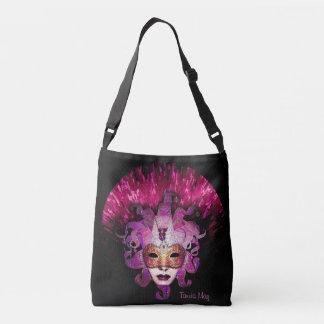 Harlequin Mask Shoulder Bag