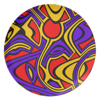 Harlequin Plate