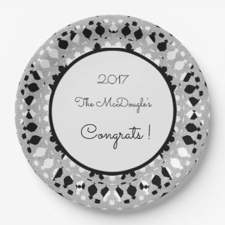 Harlequin-Silver-Shield_Celebration_Template Paper Plate