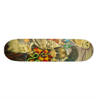 Harlequin Skate Board Decks