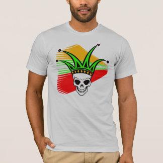 Harlequin Skull T-Shirt