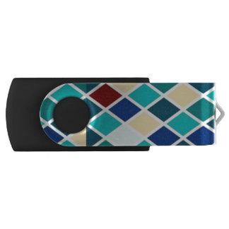 Harlequin Swivel USB 3.0 Flash Drive