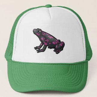 Harlequin Toad Trucker Hat