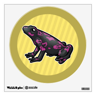 Harlequin Toad Wall Decal