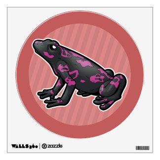 Harlequin Toad Wall Sticker
