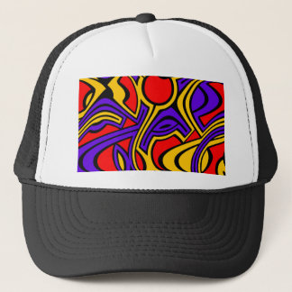 Harlequin Trucker Hat
