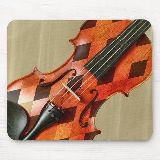 Harlequin Violin Mouse Pad