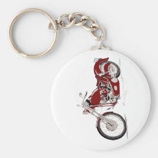 harley basic round button keychain