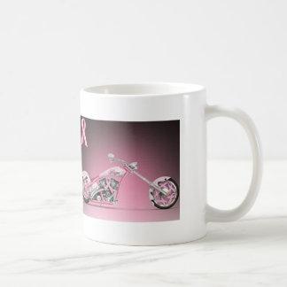 Harley Bike Pink Ribbon Breast Cancer Coffee Mug