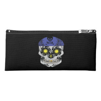 Harley Biker Candy Skull Pencil Case
