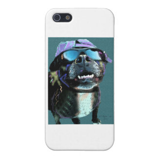 Harley-Cool Pit Bull iPhone 5/5S Case