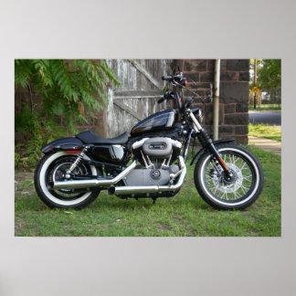 Harley Davidson 1200N Knighster Poster