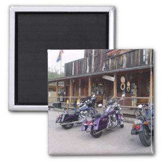 Harley Davidson Motorcycles by Western Saloon Magnet