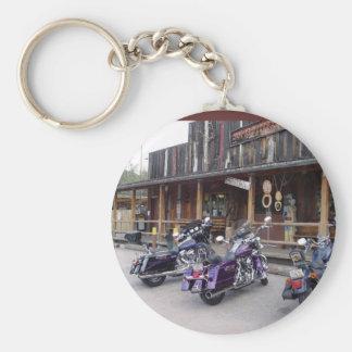 Harley Davidson Motorcycles Western Saloon Keychain