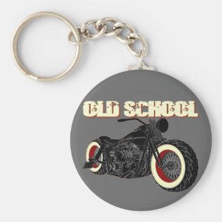Harley Davidson - old School Bobber-3 Keychain