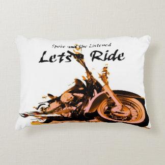 Harley Davidson Spokes Decorative Pillow