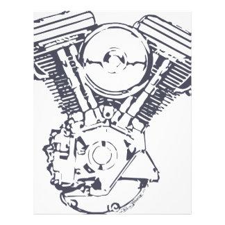 Harley Evolution V-Twin Letterhead Design