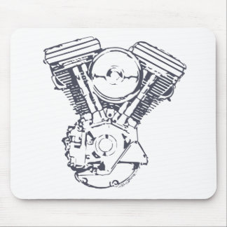 Harley Evolution V-Twin Mouse Pad