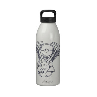 Harley Evolution V-Twin Reusable Water Bottles