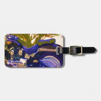 Harley-FatBoy-1998 Motorcycle Luggage Tag