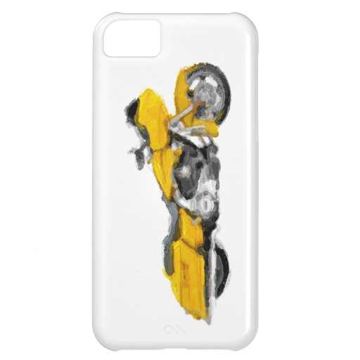 Harley FLTRX  Hand Painted Art Brush Template Bike iPhone 5C Covers