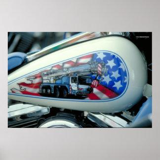 Harley Fuel Tank - Sturgis, S.D. Poster