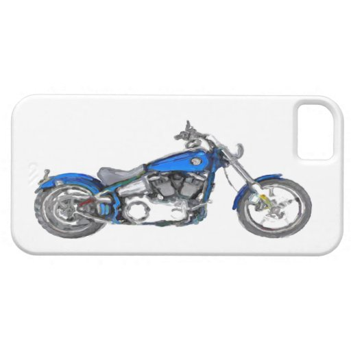Harley FXCW Softail Hand Painted Art Brush iPhone 5 Covers