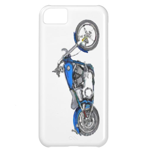 Harley FXCW Softail Hand Painted Art Brush iPhone 5C Cover