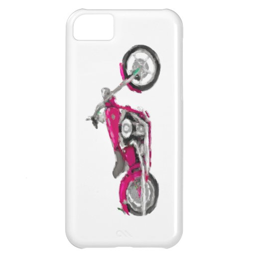 Harley FXCWC Rocker C Hand Painted Art iPhone 5 iPhone 5C Cover