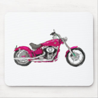 Harley FXCWC Rocker C Hand Painted Art Mouse Pad