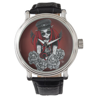 Harley Gothic Angel Tattoo Black Watch