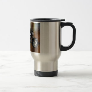 Harley motorcycle travel mug