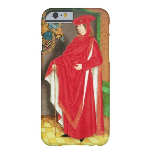Harley Ms 6199 f.57 v Philip the Good (1396-1467) iPhone 6 Case