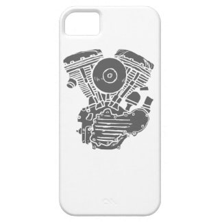 Harley Panhead Motor Drawing iPhone 5 Case