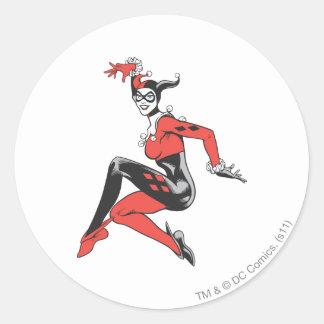 Harley Quinn 1 Classic Round Sticker