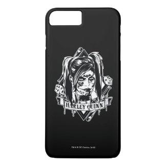 Harley Quinn Badge iPhone 7 Plus Case