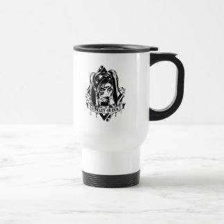 Harley Quinn Badge Travel Mug