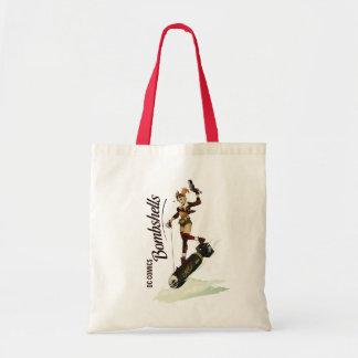 Harley Quinn Bombshell Budget Tote Bag
