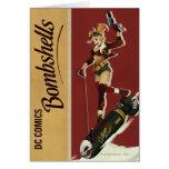 Harley Quinn Bombshell Greeting Card