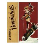 Harley Quinn Bombshell Postcard
