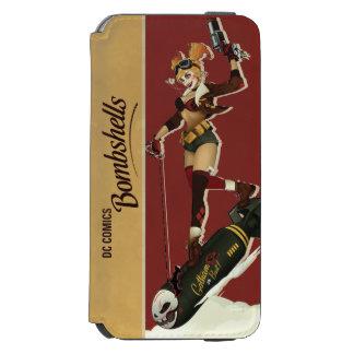 Harley Quinn Bombshells Pinup Incipio Watson™ iPhone 6 Wallet Case