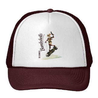 Harley Quinn Bombshells Pinup Trucker Hat