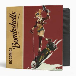 Harley Quinn Bombshells Pinup Vinyl Binder