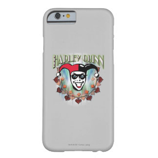 Harley Quinn - Face and Logo Barely There iPhone 6 Case