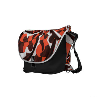 Harley Quinn's Peppermint Candycan Kissed Fractals Commuter Bags